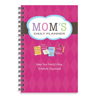 Kahootie Co Mom's Daily Planner Notebook in Pink