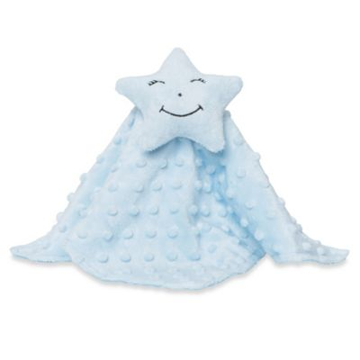 Elegant Baby® Star Blankie Buddy in Blue