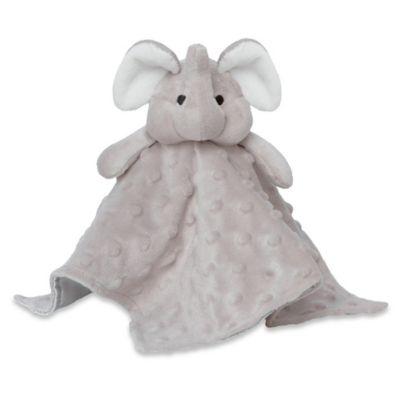 Baby Blankets > Elegant Baby® Elephant Blankie Buddy in Grey