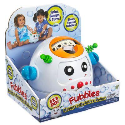 Little Kids® Fubbles Bump 'n Bubbles Robot Machine