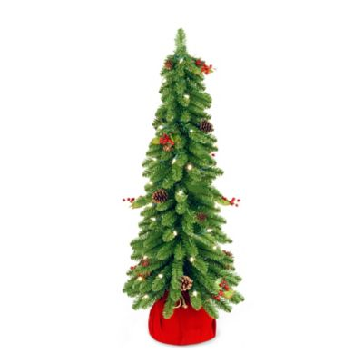 National Tree Downswept 2-1/2-Foot Pre-Lit Forestree Christmas Tree