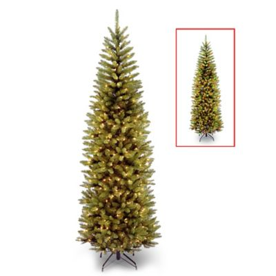 National Tree 7-Foot Kingswood 9-Function Pencil Pre-Lit Christmas Tree with 250 Lights