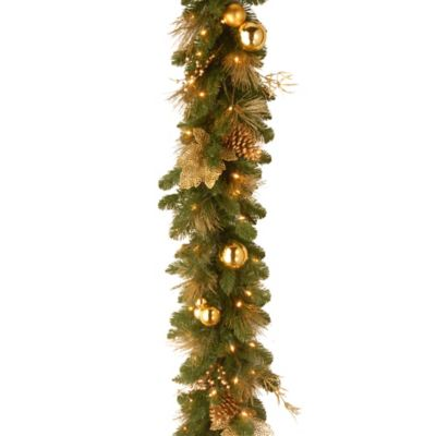 National Tree 6-Foot Elegance Spruce Garland