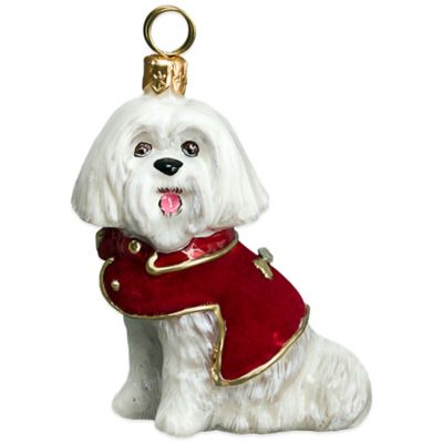 Red Velvet Coat Christmas Ornament