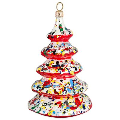 Glitterazzi Joy to the World Collectibles Artisan Tree Christmas Ornament