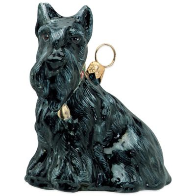 Pet Set Joy to the World Collectibles Scottish Terrier Christmas Ornament