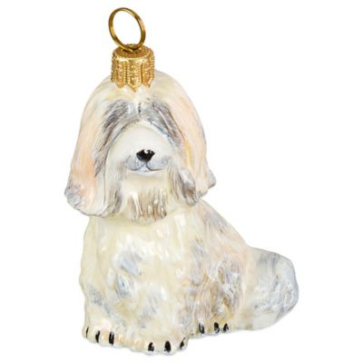 Pet Set Joy to the World Collectibles Havanese Christmas Ornament in White