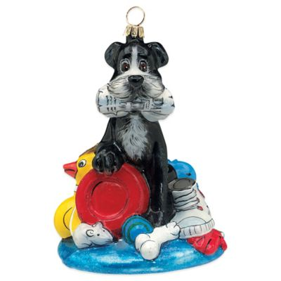 Pet Set Joy to the World Collectibles Fetch-A-Holic Dog Christmas Ornament