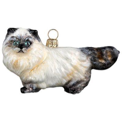 Pet Set Joy to the World Collectibles Himalayan Cat Christmas Ornament