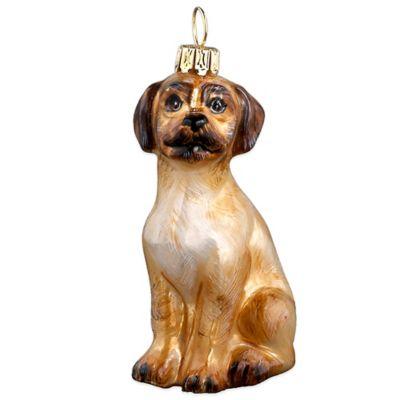Pet Set Joy to the World Puggle Christmas Ornament