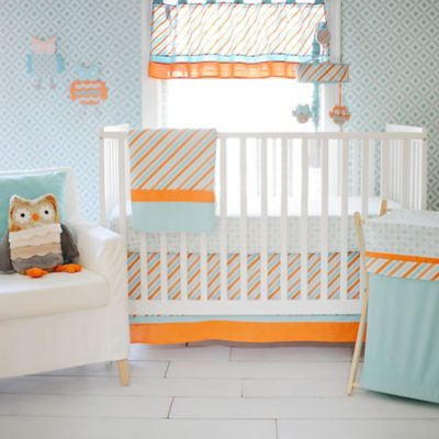 My Baby Sam Penny Lane 3-Piece Crib Bedding Set