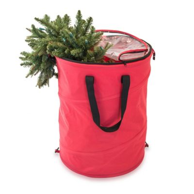 Large Pop-Up Holiday Storage Bag