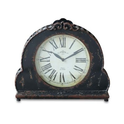 Mantle Clock in Black