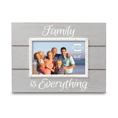 "Coast Time ""Family is Everything"" 4-Inch x 6-Inch Frame"