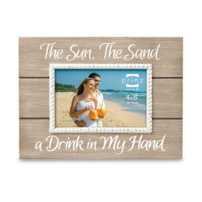 "Prinz Coast Time ""The Sun, The Sand"" 4-Inch x 6-Inch Frame"