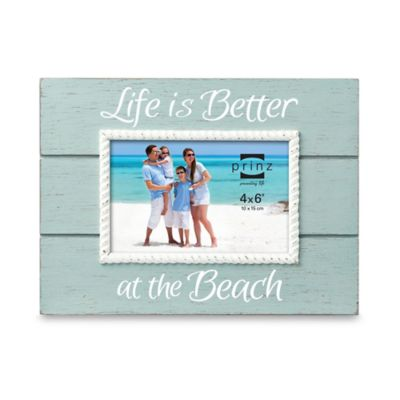 "Coast Time ""Life is Better"" 4-Inch x 6-Inch Frame"