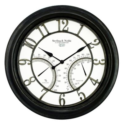 Sterling & Noble Large Wall Clock