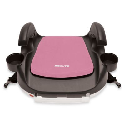 Secure RPM Deluxe Booster Car Seat with Latch in Pink