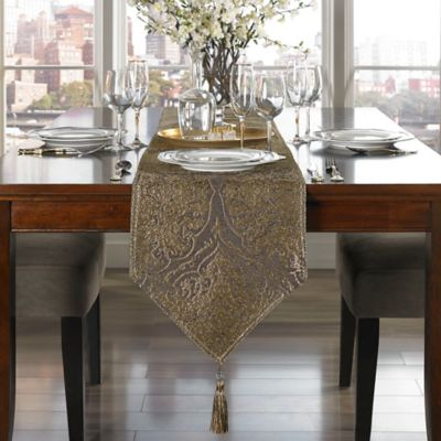 Sadira 72-Inch Table Runner in Graphite