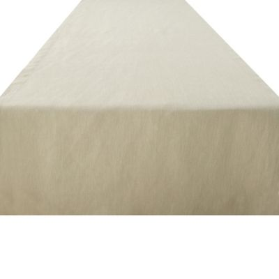 Kenneth Cole Reaction Home Mercer 72-Inch Linen Table Runner in Natural