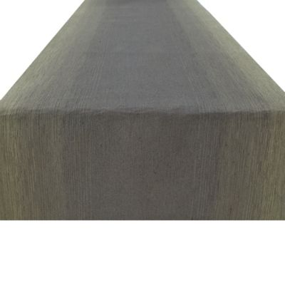 Kenneth Cole Reaction Home Houston Table Runner in Grey