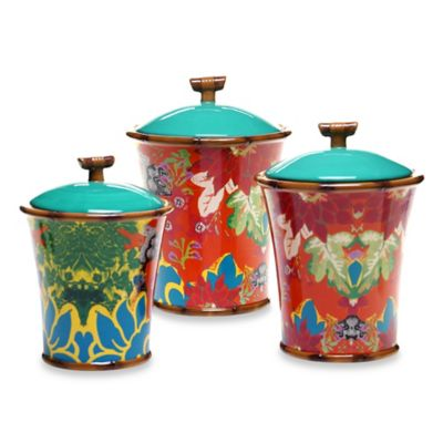 Tracy Porter® Poetic Wanderlust® Magpie 3-Piece Canister Set