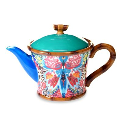 Tracy Porter® Poetic Wanderlust® Magpie Teapot