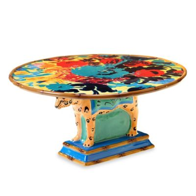 Tracy Porter® Poetic Wanderlust® Magpie Leopard Cake Stand