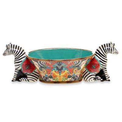 Tracy Porter® Poetic Wanderlust® Magpie Zebra Centerpiece Bowl