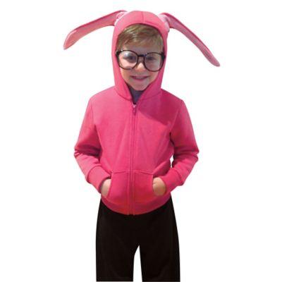 Rasta Imposta Size 4-6X Christmas Story Bunny Hoodie