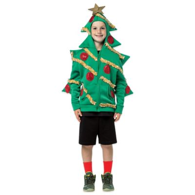 Rasta Imposta Small Christmas Tree Hoodie