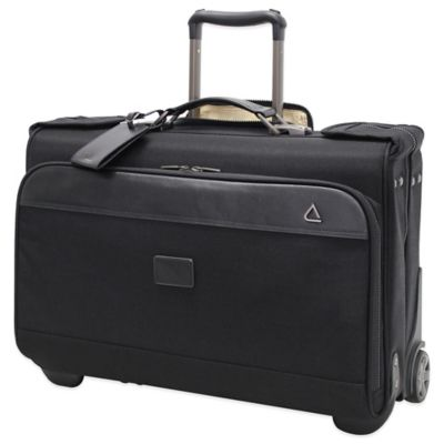 Andiamo® Avanti Wheeled Carry-On Garment Bag in Black