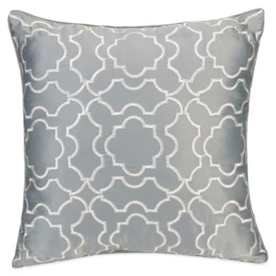 Jessica Simpson Bianca Luxe Trellis Time Square Throw Pillow