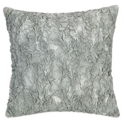 Jessica Simpson Golden Peony Truly Textured Square Throw Pillow