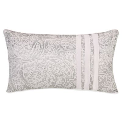 Jessica Simpson Ethereal Pleats Oblong Throw Pillow