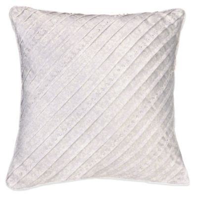 Jessica Simpson Ethereal Pleats Square Throw Pillow