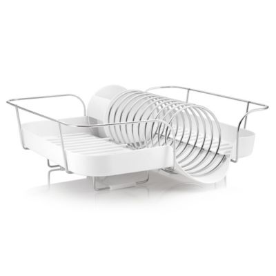 Plastic and Stainless Dish Rack
