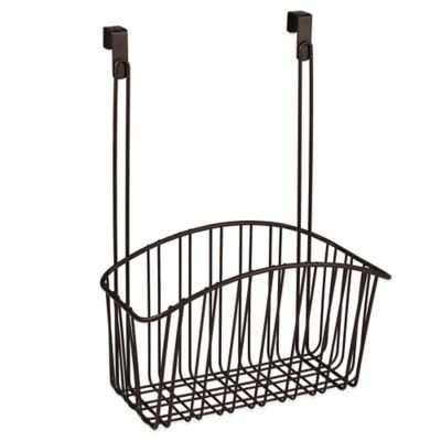 Spectrum™ Large Contempo Over the Cabinet Door Basket in Bronze
