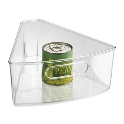 InterDesign® Cabinet Binz™ Lazy Susan Eighth Wedge Storage Bin