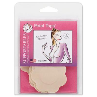 Supportables® 3-Pair Petal Tops