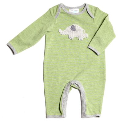 Little London by Albetta Size 6-9M Elephant Coverall in Green