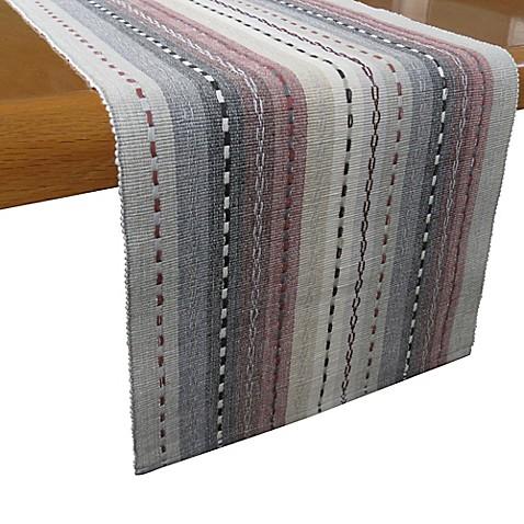 Buy Desert Trails 72 Inch Table Runner In Granite From Bed