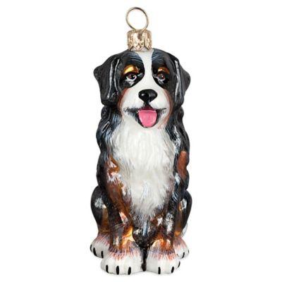 Pet Set Joy to the World Collectibles Bernese Mountain Dog Christmas Ornament
