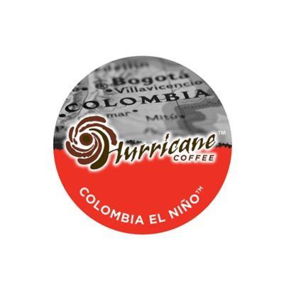 18-Count Hurricane™ Coffee Colombia El Nino™ Coffee for Single Serve Coffee Makers