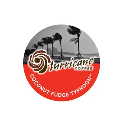 18-Count Hurricane™ Coffee Coconut Fudge Typhoon™ Coffee for Single Serve Coffee Makers