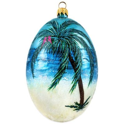 Joy to the World Collectibles Timeless Coastal Egg Christmas Ornament