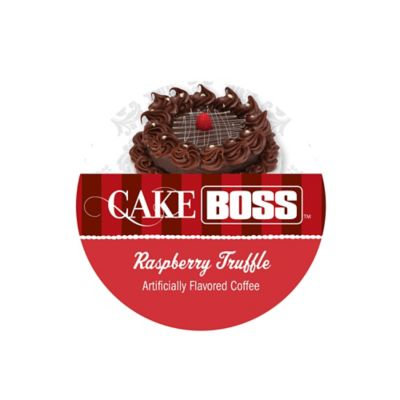18-Count Cake Boss™ Raspberry Truffle Flavored Coffee For Single Serve Coffee Makers