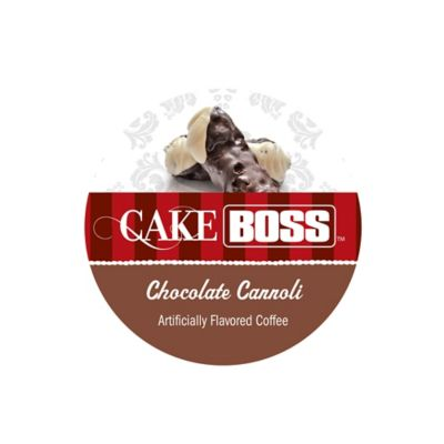 18-Count Cake Boss™ Chocolate Cannoli Flavored Coffee For Single Serve Coffee Makers