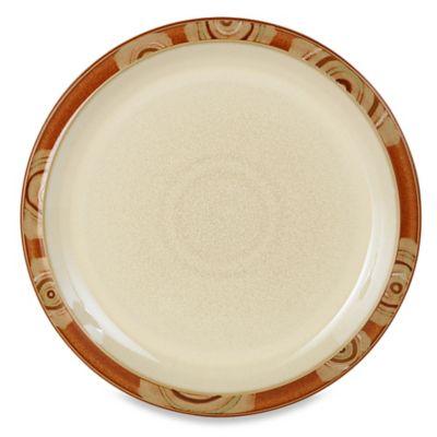 Denby Chilli 10 1/2-Inch Dinner Plate in Deco/Cream