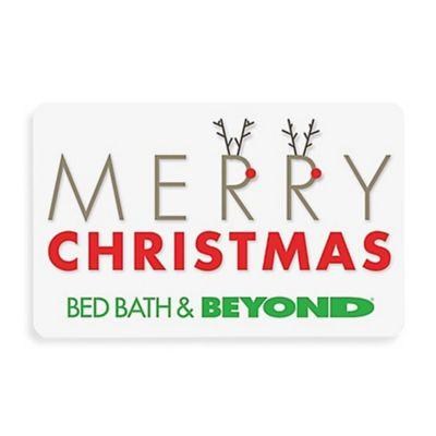 """Merry Christmas"" Reindeer Gift Card $100.00"